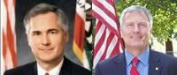 Tom McClintock (R) and Charlie Brown (D)