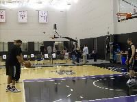 Kings players at practice (CPR file/Ben Adler)