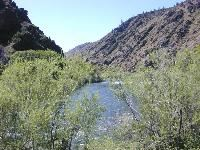 Klamath River in Northern California <br>